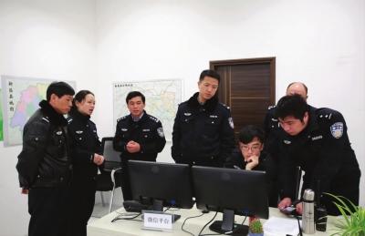 舟山市交警支队领导来新考察调研图片 72010 400x259